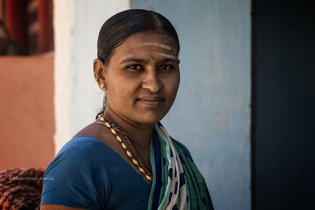 BADAMI : PORTRAIT INDIEN