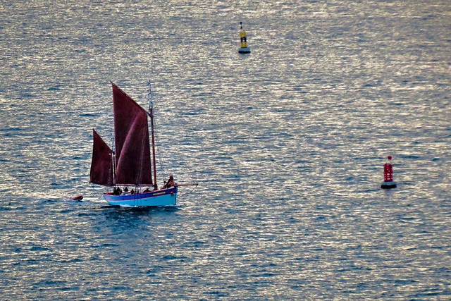 Sailing in the Rade de Brest
