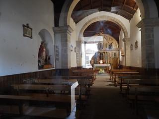 Iglesia, through the glass