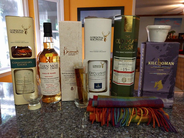 our haul from Scotland!
