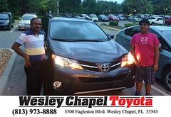 #HappyBirthday to Shailesh from Ross MacDonald at Wesley Chapel Toyota!