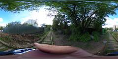Podmoskovnaya - Svoboda access track, Moscow