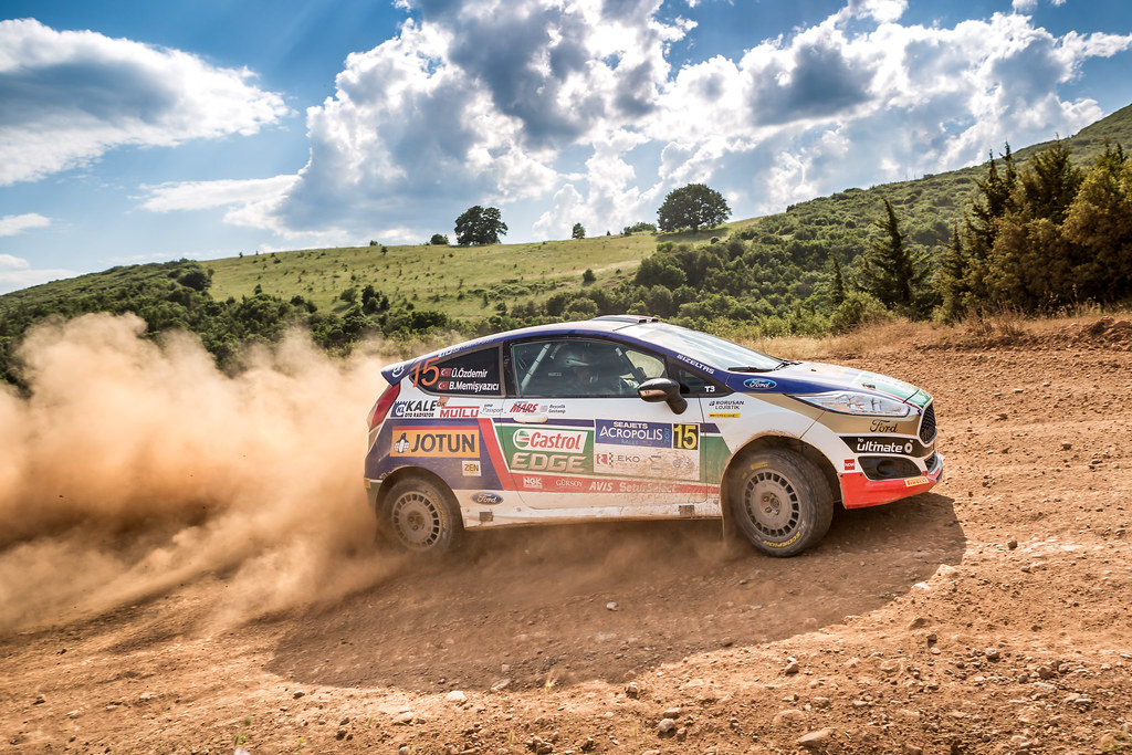 15 OZDEMIR Umitcan (tur) and MEMISYAZICI Batuhnan (tur) action during the European Rally Championship 2017 - Acropolis Rally Of Grece - From June 2 to 4 - Photo Thomas Fenetre / DPPI