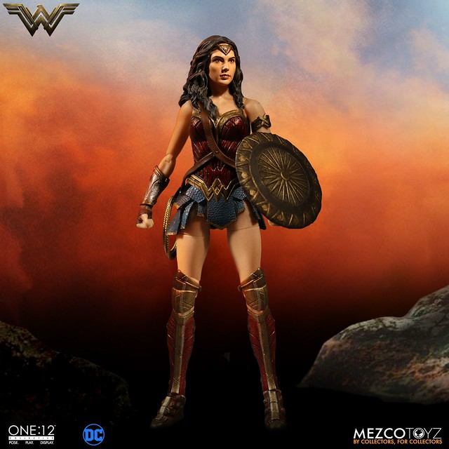 MEZCO – ONE:12 COLLECTIVE 系列【神力女超人】Wonder Woman 1/12 比例人偶作品