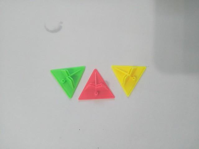 魔方教室 金字塔魔方 角塊3