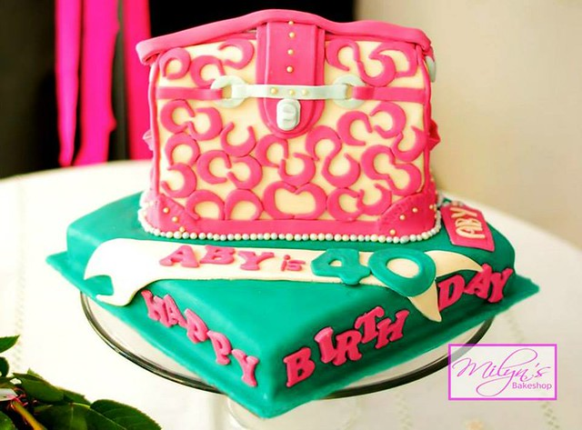 Cake by Milyn's Bakeshop