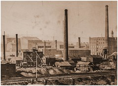 Chamber Colliery Company, Rhodes Bank Colliery, Oldham, Lancashire 1879