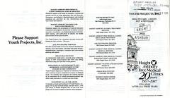 Haight Ashbury Free Medical Clinics, Pamphlet, January 1988, 1 of 2