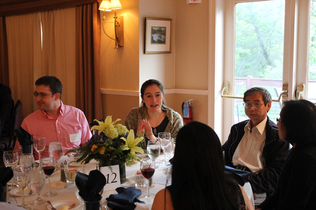 Guests in conversation
