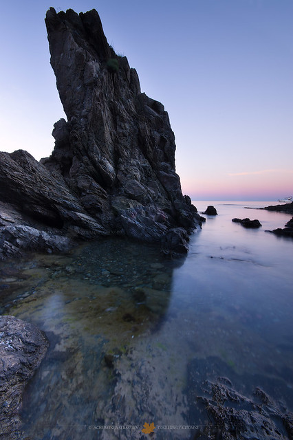 Les rochers de la Côte Vermeille
