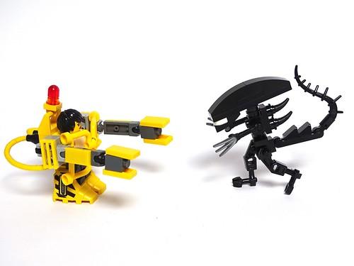 Ripley versus Xenomorph