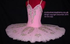 Pink/Gold Classical Ballet Tutu