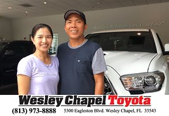 #HappyBirthday to Dung from Linh Ngo at Wesley Chapel Toyota!