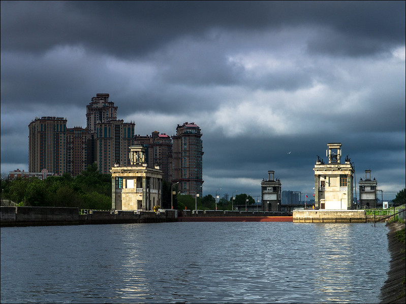 Russia. Moscow. Canal name Moscow.