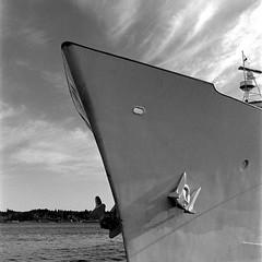 Ships bow at Bremerton Marina