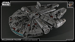 LEGO Star Wars - Millennium Falcon 2 4K