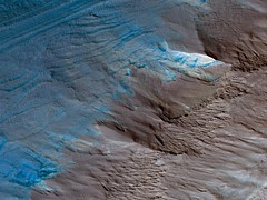 Erosion of the Edge of the South Polar Layered Deposits