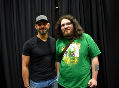 Patrick Sabongui (The Flash, Power Rangers) and I!