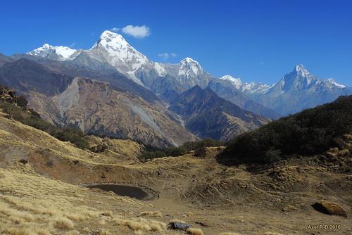 annapurnai annapurnasouth machhapuchhre montagnes muldhai nepal