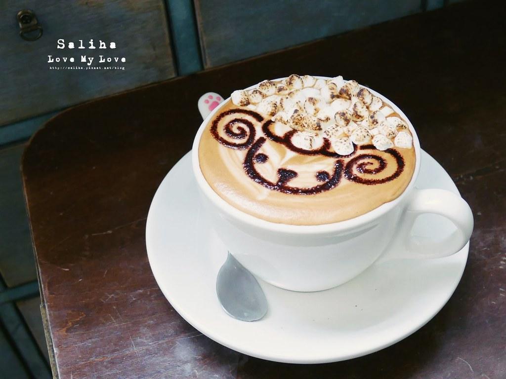 台北東區忠孝敦化站附近早午餐brunch下午茶推薦Longtimeago Cafe 夢遊咖啡館 (2)