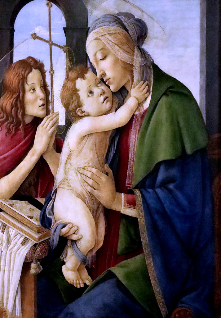 "IMG_5861E S Botticelli.  FROM GOTHIC TO HUMANISM, CALLED ""RENAISSANCE"", TO MODERN ART"