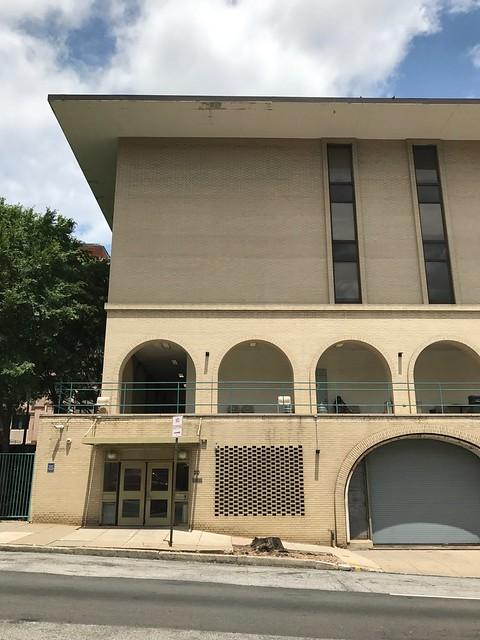 Peabody Institute Residence Halls (1968, Edward Durell Stone), 20 E. Centre Street, Baltimore, MD 21202