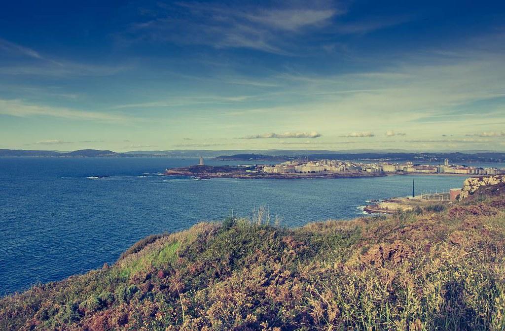Vistas infinitas. #torredehercules #Coruña #olympus510 #sanpedro #photography