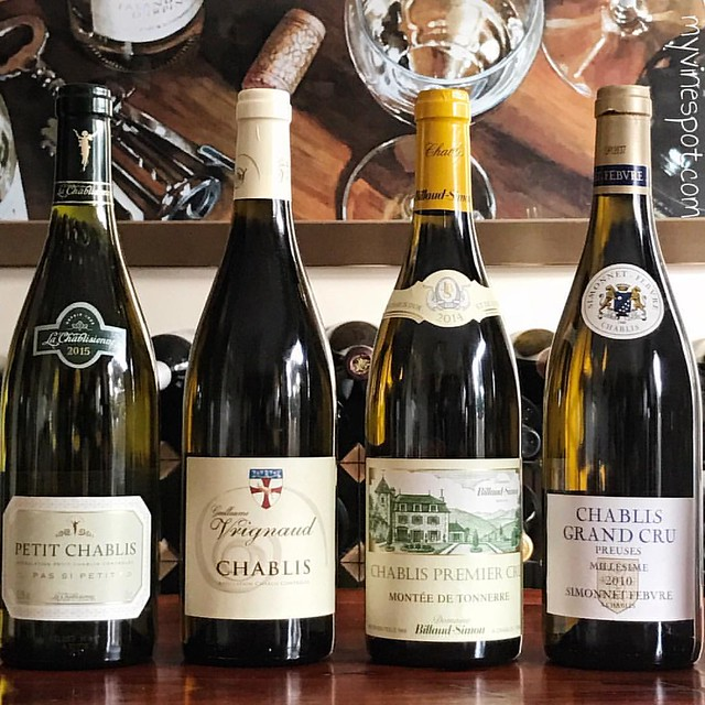 On the eve of #ChardonnayDay we're rocking a quartet of #Chablis with @CanterburyWine. Pour yourself a glass and join us on Twitter tonight at 9PM EST by using hashtag #PureChablis. Cheers!