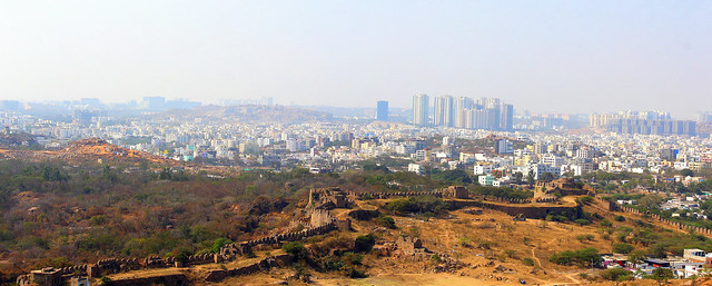 Hyderabad   View from Golkonda Fort