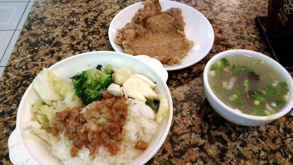 東一排骨-菜飯 2016-07-16
