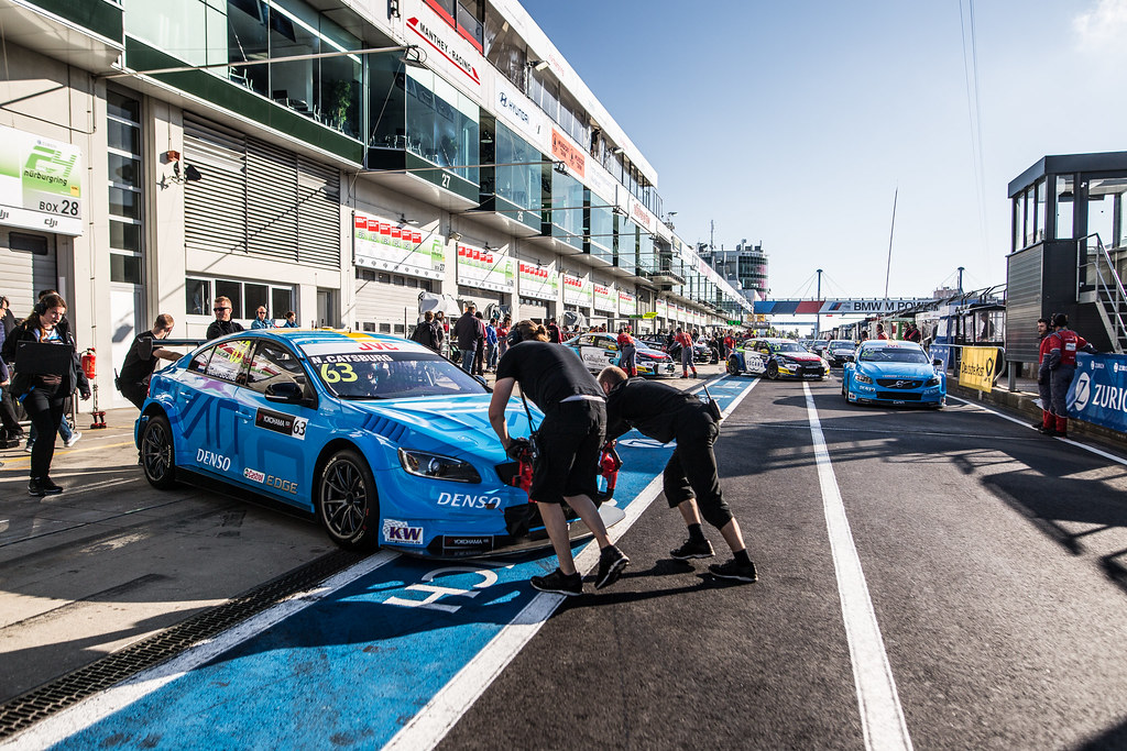 63 CATSBURG Nicky (ned), Volvo S60 Polestar team Polestar Cyan Racing, ambiance during the 2017 FIA WTCC World Touring Car Race of Nurburgring, Germany from May 26 to 28 - Photo Antonin Vincent / DPPI