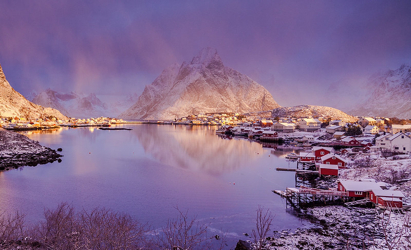 Earth Smiled IV | Reine, Lofoten, Norway