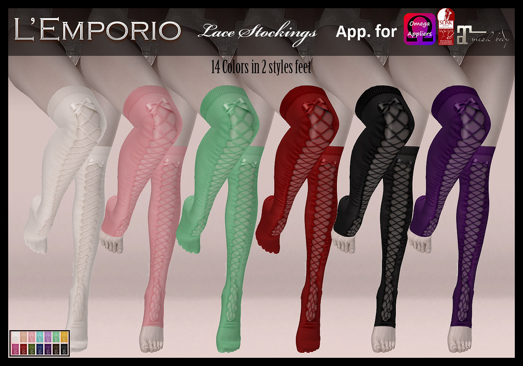 Stockings Lace - SecondLifeHub.com