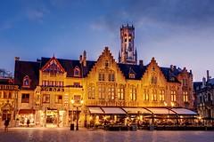 Burg Square at Night