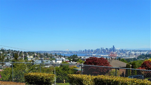 Seattle sky line as, Nikon COOLPIX S3700