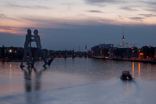 moleculeman berlijn sunset