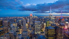New York Skyline from