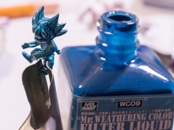 メカコレドラゴンボール1、2をフィルタリキッドで手抜き塗装してみた!