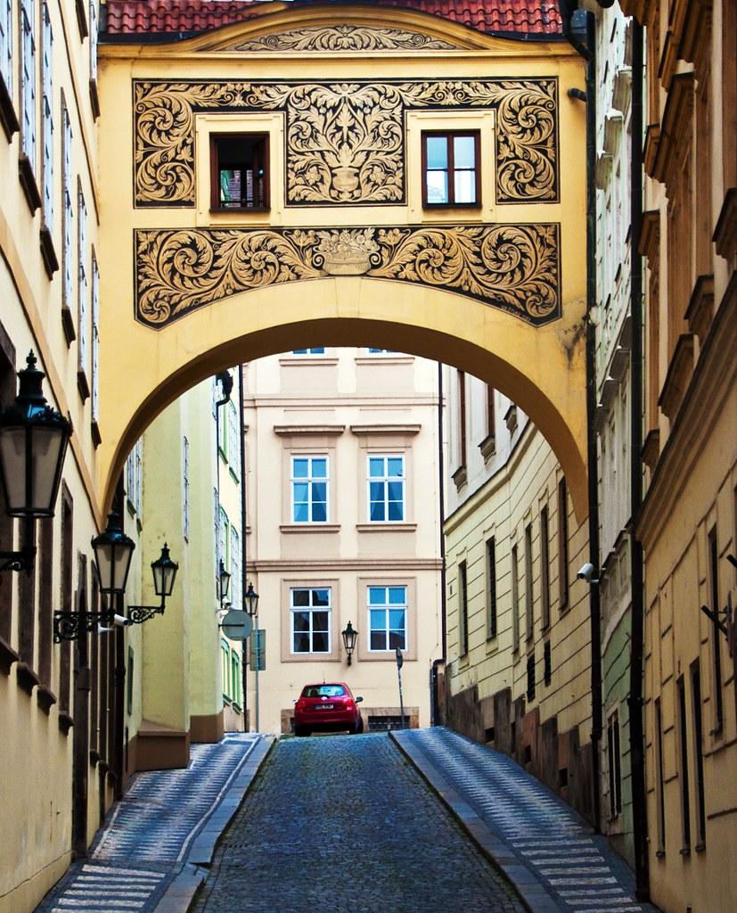 Old Town Prague Archway