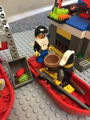 Lego club close-up