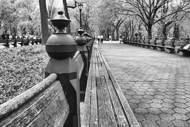Central Park Bench, Fujifilm X-Pro2, XF18-55mmF2.8-4 R LM OIS