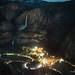 Yosemite Falls by Valley Light by Darvin Atkeson