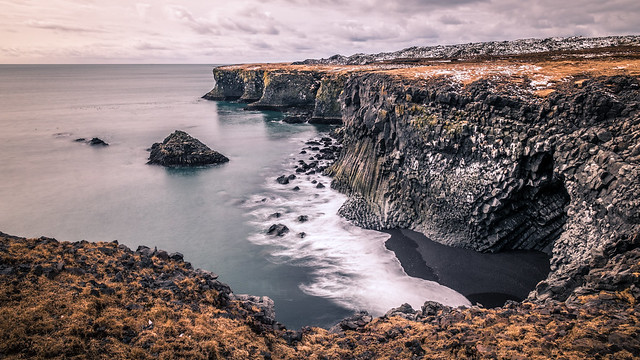 Hellnar - Iceland - Seascape photography