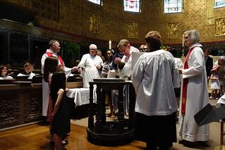 Pentecost Baptisms, June 4, 2017
