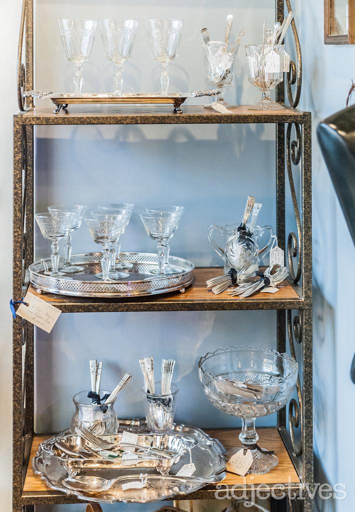 Vintage Glassware in Altamonte by Suzy Q