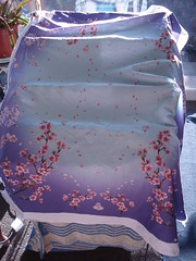 sakura circle skirt