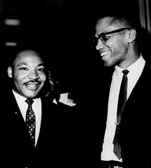 Malcolm X and Rev. Martin Luther King Jr.: 1964