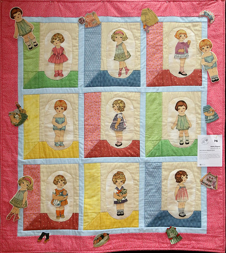 076: Attic Window Babydoll Quilt—Kathy Beguin