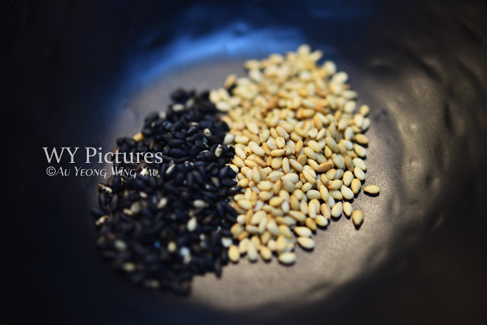 Black And White Seseme Seeds