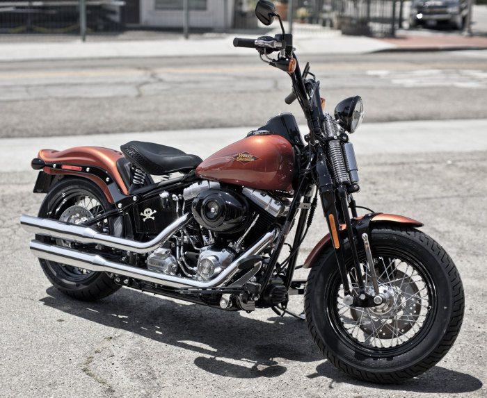 Harley-Davidson FLSTSB 1584 SOFTAIL CROSS BONES 2008 - 17